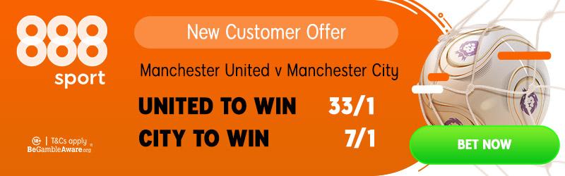 Man United v Man City Betting