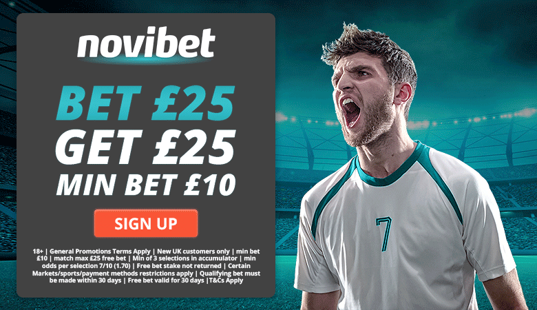 Novibet Free Bet Offer