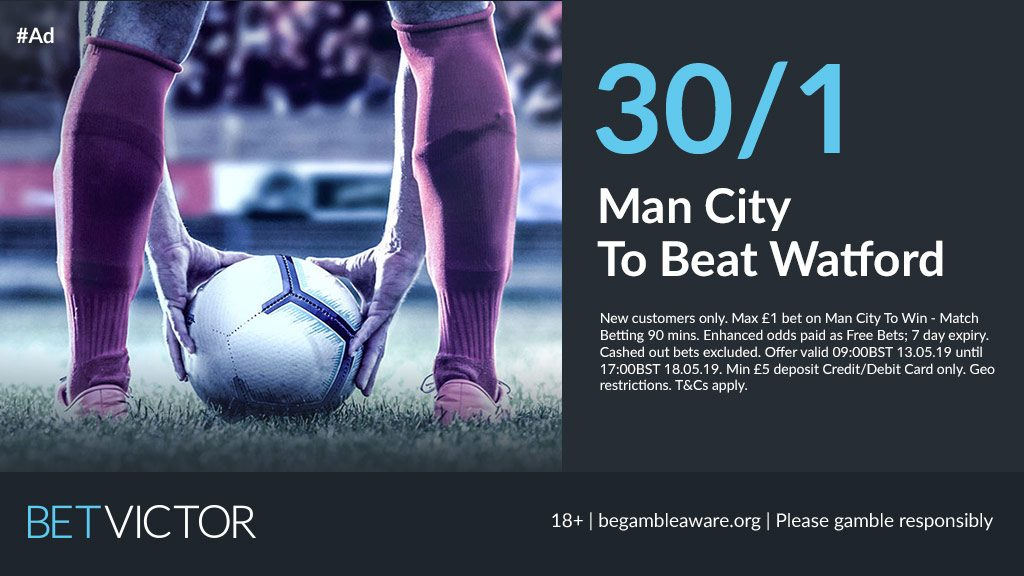 FA Cup Man City Betting Offer