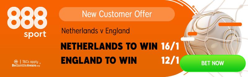 Netherlands v England Betting