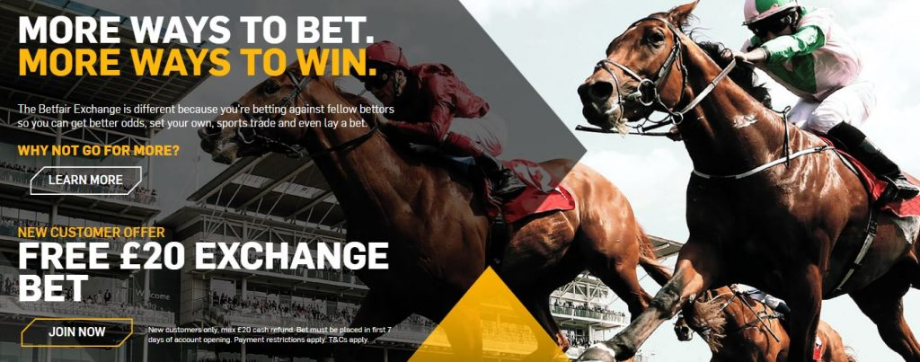 Horse Racing Exchange Betting