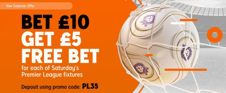 Premier League Free Bet Offer