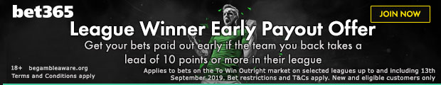 League Winner Early Payout Offer