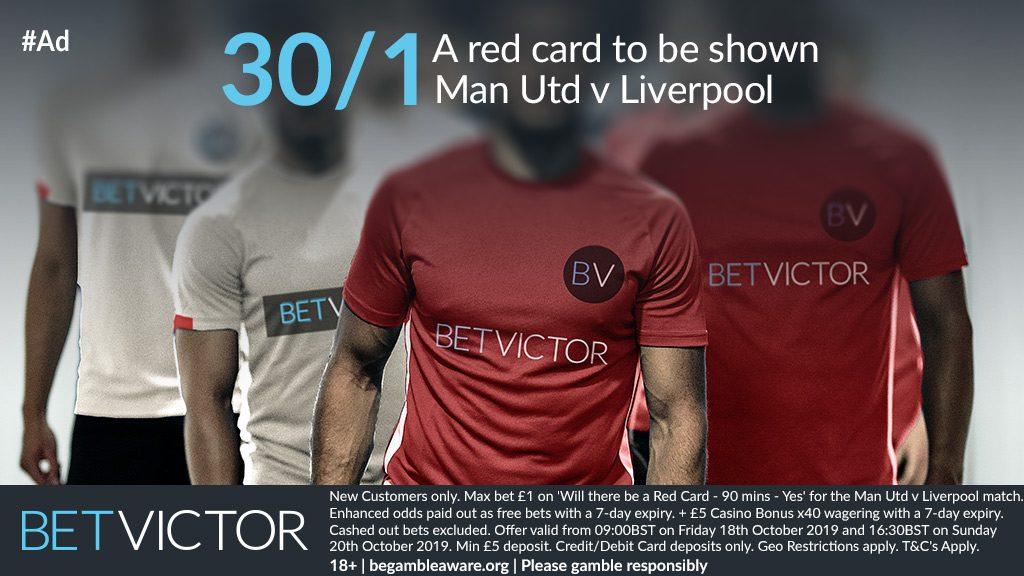 Man Utd v Liverpool Betting Offer