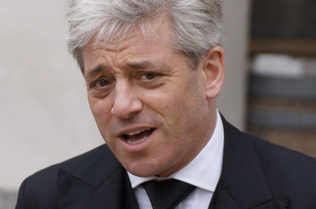 John Bercow, the Speaker of the House of Commons, taking part in 'I'm a Celebrity Get Me Out Of Here' 2019.?