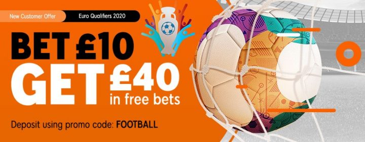 888Sport Euro Qualifier Free Bets
