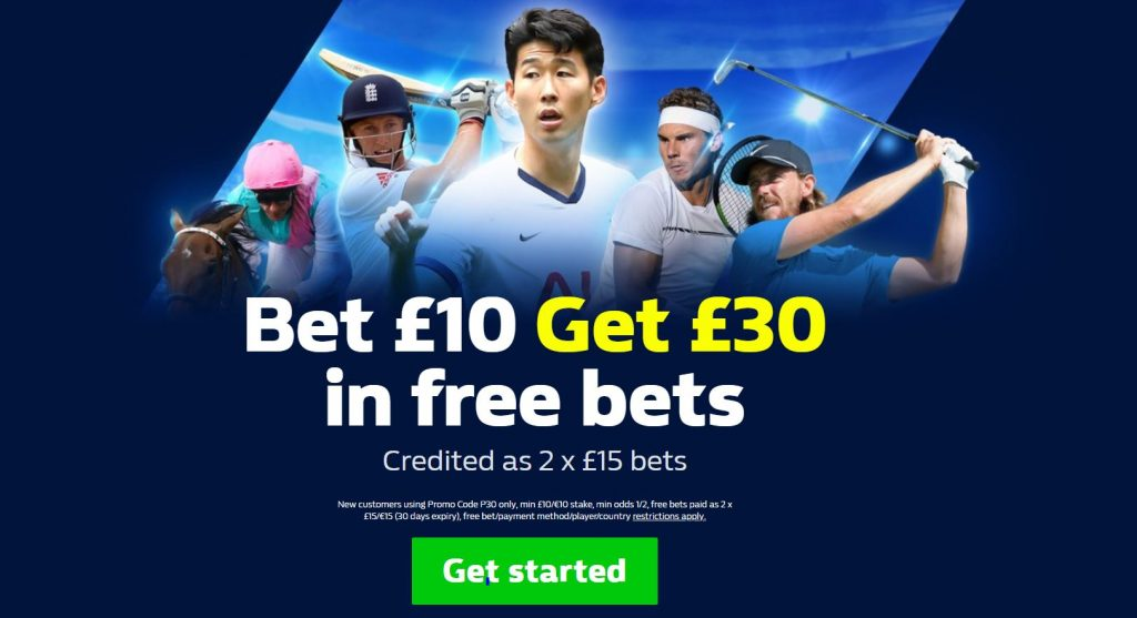 New Customer William Hill Welcome Offer