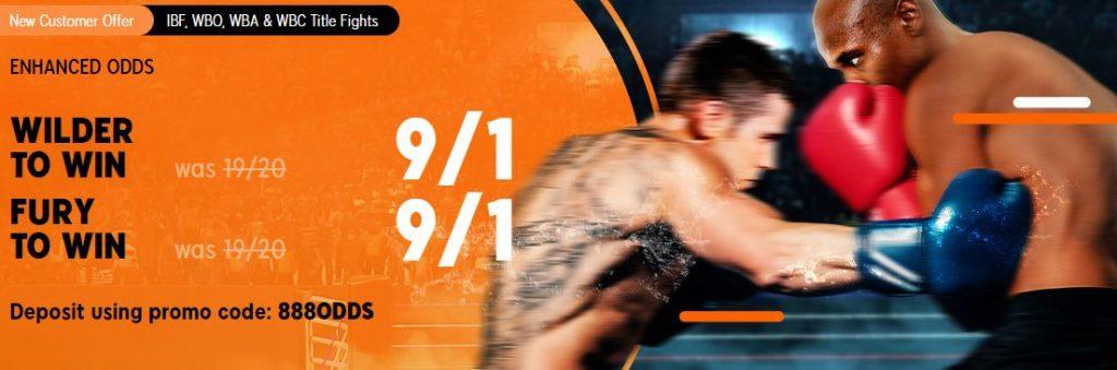Wilder v Fury Boxing Enhanced Odds