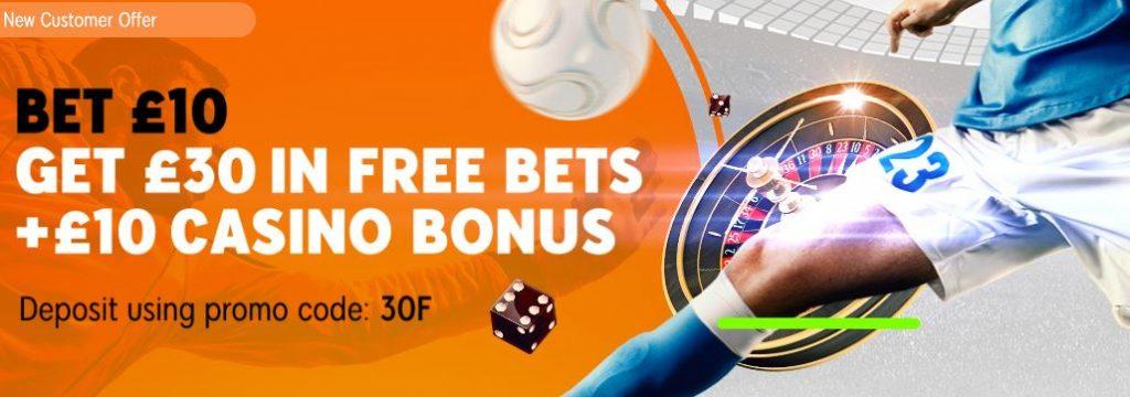 888Sport Free Bet Offer
