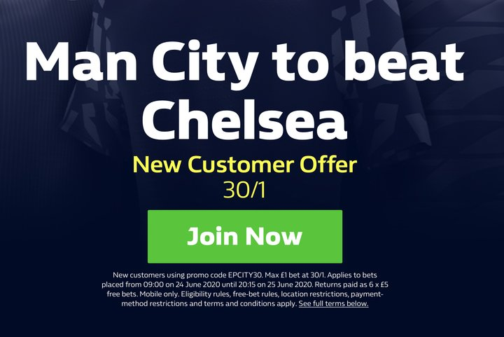 Man City EPL Betting Offer