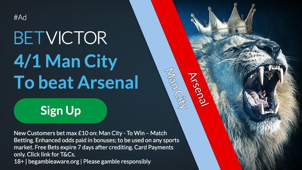Man City Premier League Betting