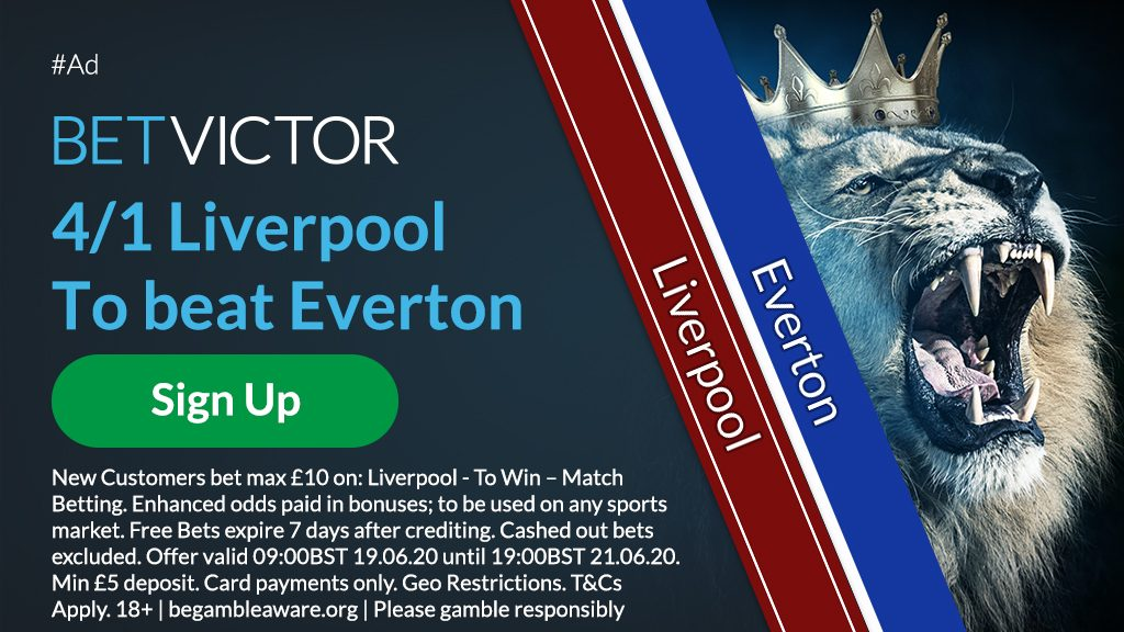 Liverpool EPL Betting Offer