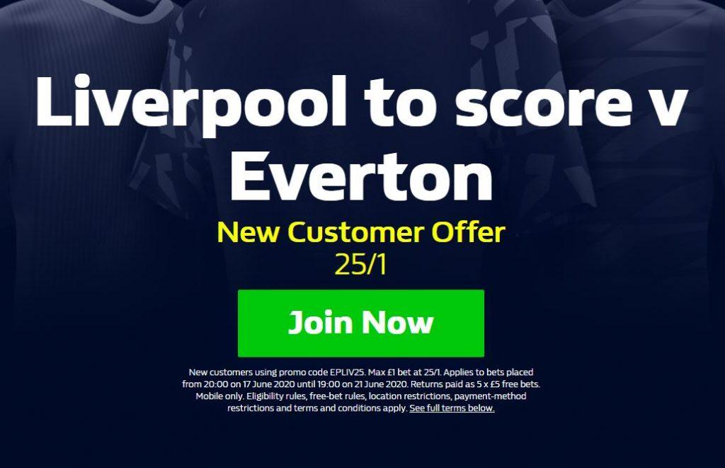 Liverpool Premier League Betting Offer