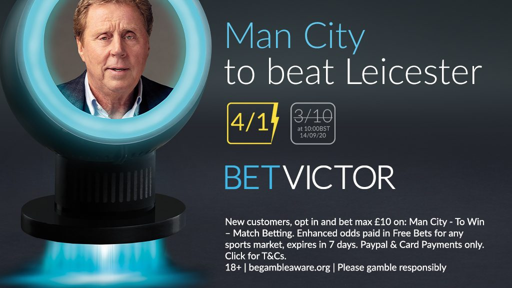 Man City v Leicester Premier League Betting Offer