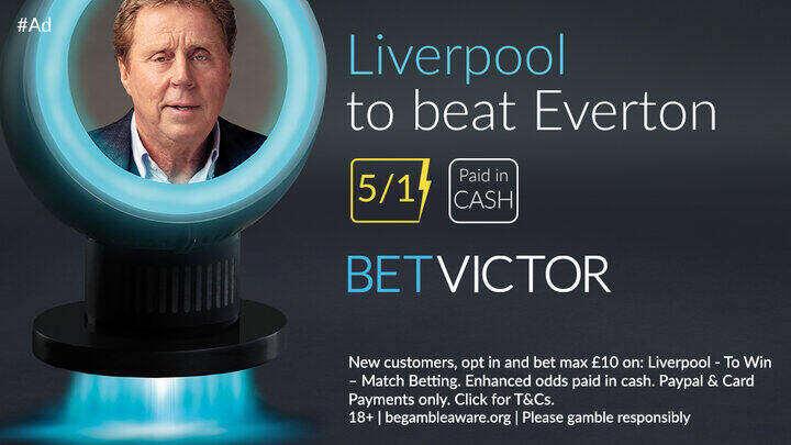 Liverpool Derby Premier League Betting Offer