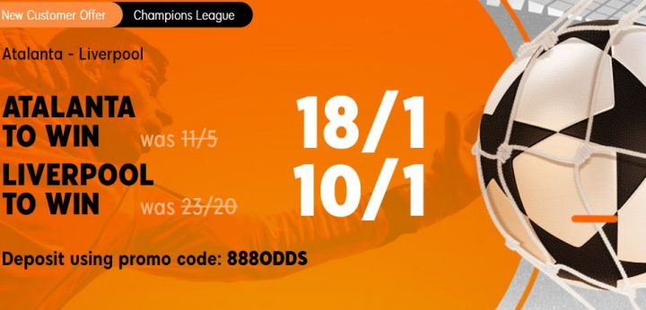 Atlanta v Liverpool Champions League Betting Offer