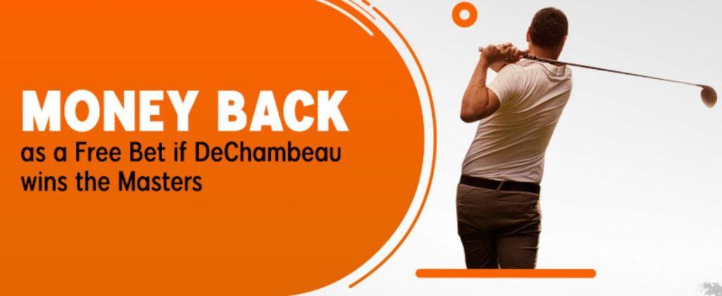 DeChambeau US Masters Money Back Special