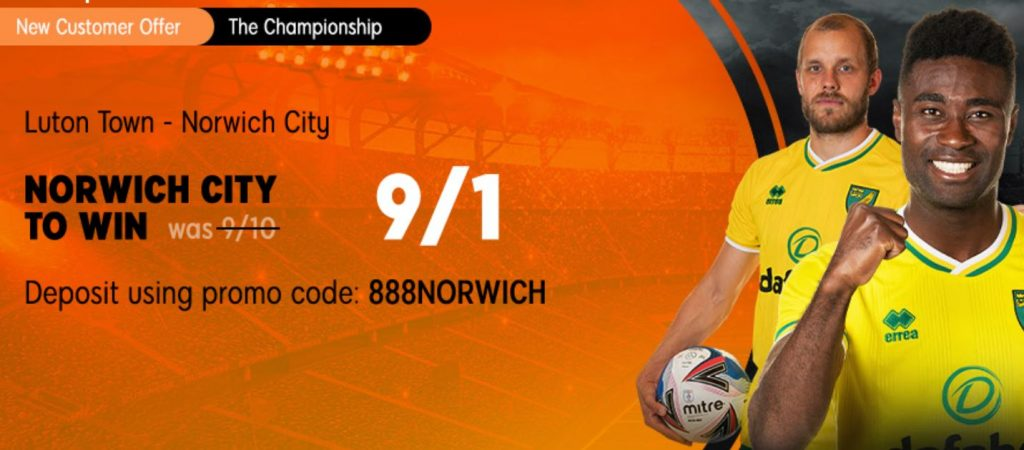 Norwich City Championship Betting Offer