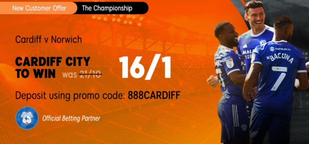 Cardiff City Championship Betting Offer