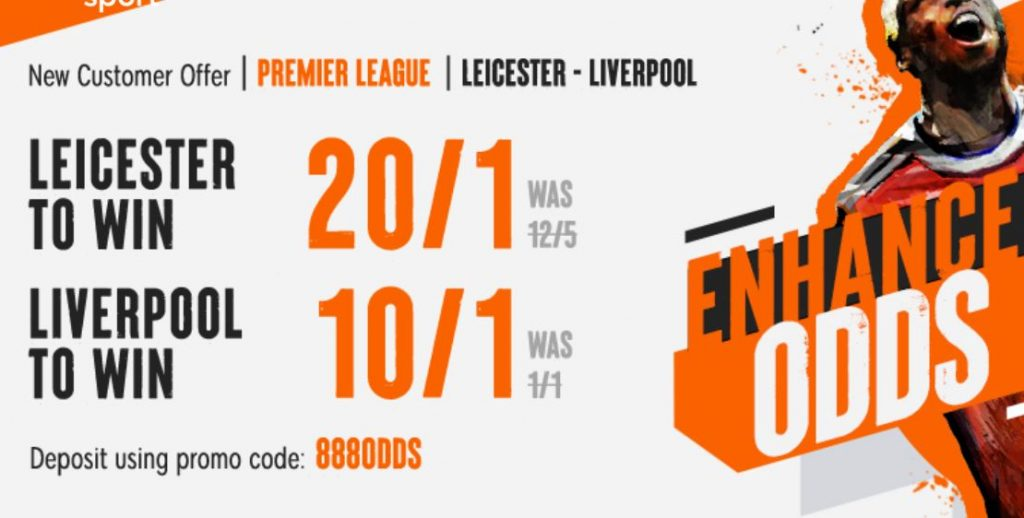 Leicester v Liverpool Premier League Betting Offer
