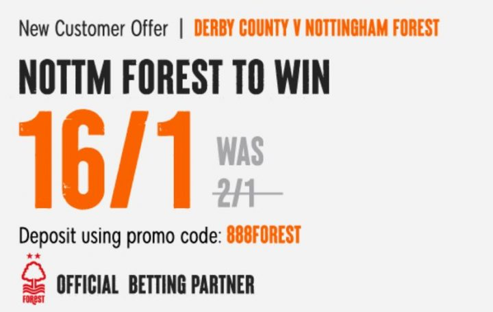 Forest Championship Betting Offer