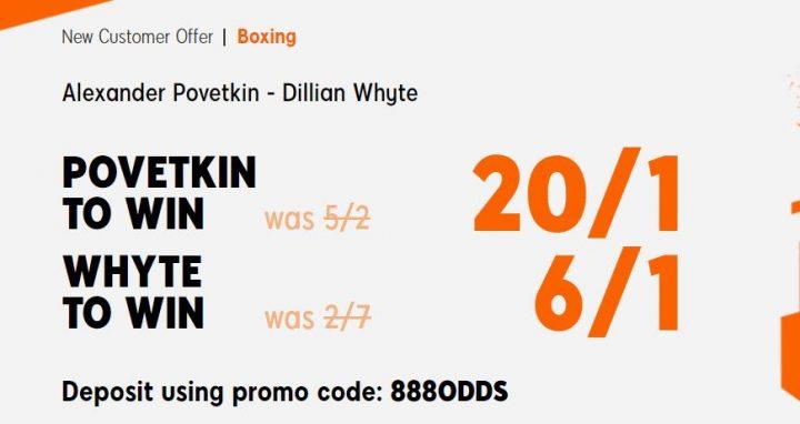 Provetkin v Whyte Boxing Offer