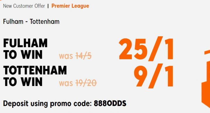 Fulham v Spurs Premier League Betting