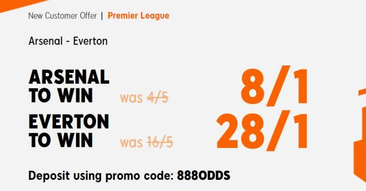 Arsenal v Everton Premier League Betting