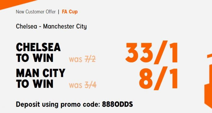 Chelsea v Man City FA Cup Betting