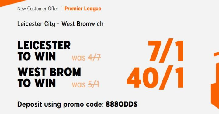 Leicester v West Brom Premier League Betting