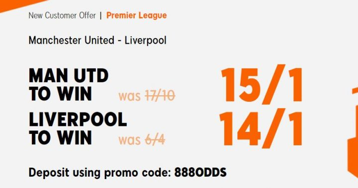 Man Utd v Liverpool Premier League Betting