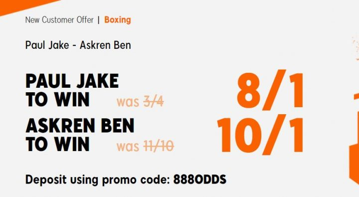 Paul Jake v Askren Ben Boxing Offer