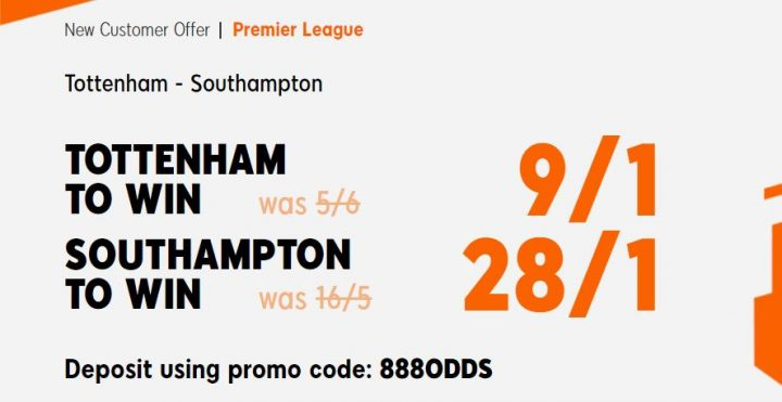 Spurs v Southampton Premier League Betting