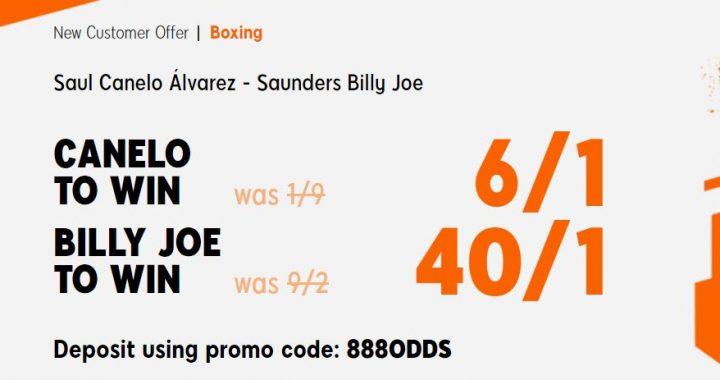 Canelo v Billy Joe Saunders Boxing Betting