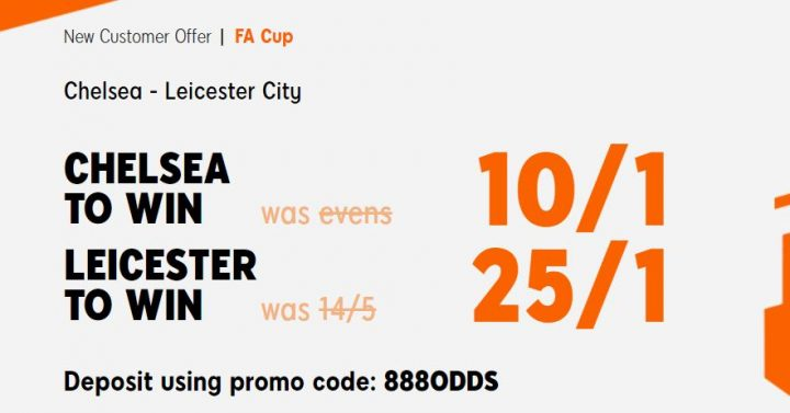 Chelsea v Leicester FA Cup Final Betting
