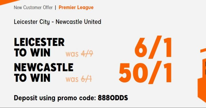 Leicester v Newcastle Premier League Betting