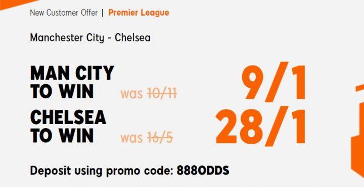 Man City v Chelsea Premier League Betting