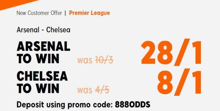Arsenal v Chelsea Premier League Betting