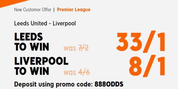 Leeds v Liverpool Premier League Betting