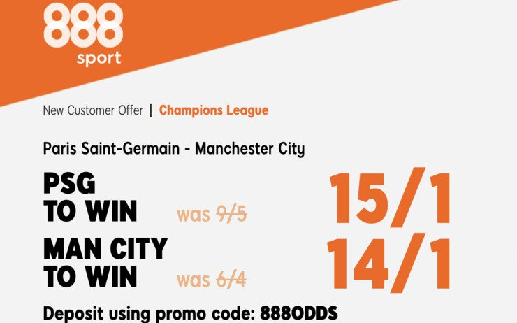 PSG Man City Betting Offer