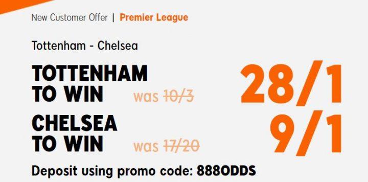 Spurs v Chelsea Premier League Betting